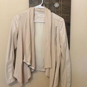 BlankNYC moto sweater jacket